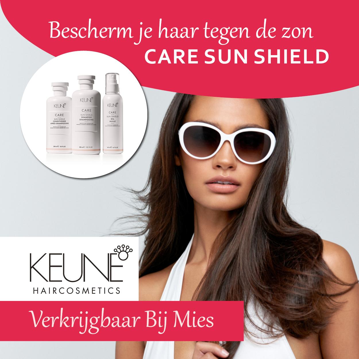 bescherm je haar met Keune Care Sun Shield